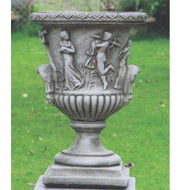 Italienische Vase kleinen Drachen Stein
