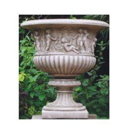 dragonstone Garten Vase Bacchus Drachen Stein