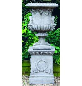 dragonstone Große Regency Vase Drachen Stein