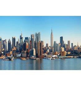 Glasmalerei Manhattan im Jahr 2016 80x120cm