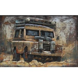 Metall Malerei 3d Off Road 120x80cm