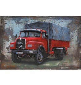 Eliassen Metall 3D-Malerei 120x80 MAN Diesel