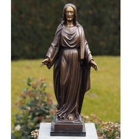 Bronzen beeld Jezus