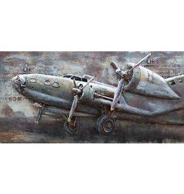 3D Schilderij metaal Lancaster 70x140cm