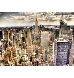 Fotoschilderij op canvas 114x80cm Skyline