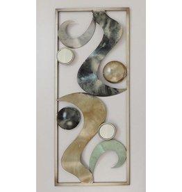 wanddecoratie abstract 4