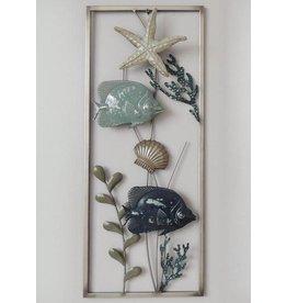 Wanddekoration Sealife