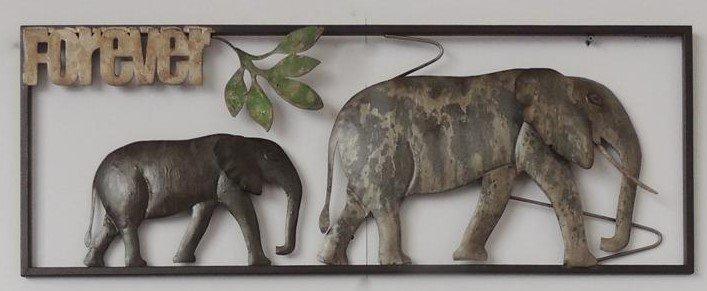 wanddecoratie olifanten eliassen home amp garden pleasure