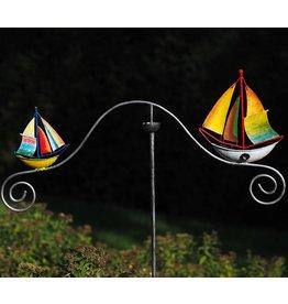 Stecker Garten Balance Boote