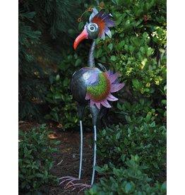 Metallfigur Vogel extra groß