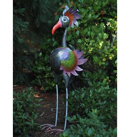 Metallfigur Vogel Übermaß