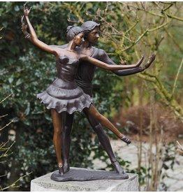 Bronze-Skulptur Tanzpaar