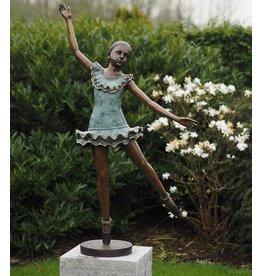 Ballerina große Bronzestatue
