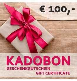 Kadobon 100 euro