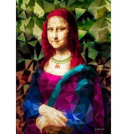 Glasmalerei 80x120cm Mona Lisa