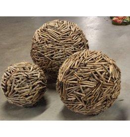Globen Treibholz in 4 Größen
