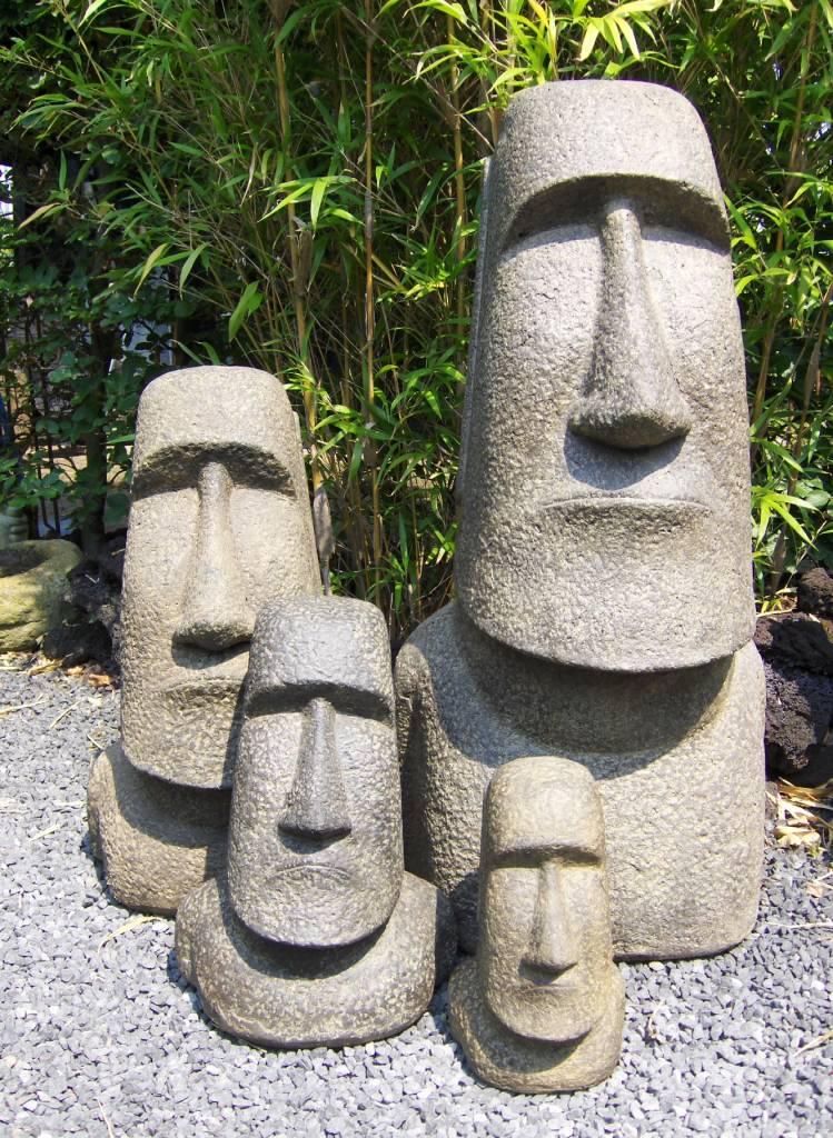 Charming Eliassen Moai Image 200cm