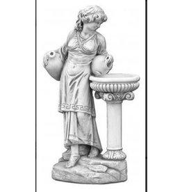 Vrouw met kruiken waterobject
