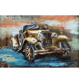 Eliassen Metaal schilderij Classic 80x120cm