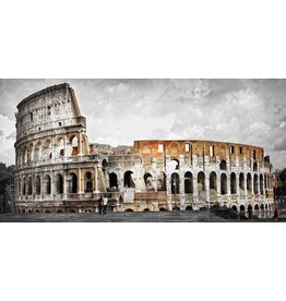 Glasmalerei 160x80cm Colosseum