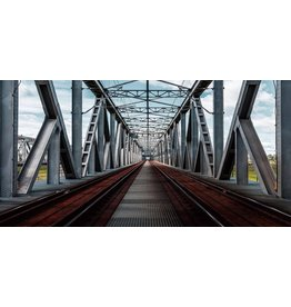Glasmalerei 160x80cm Spoorbrug
