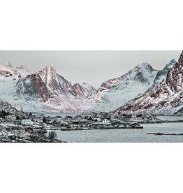 Glasschilderij 160x80cm Chamonix