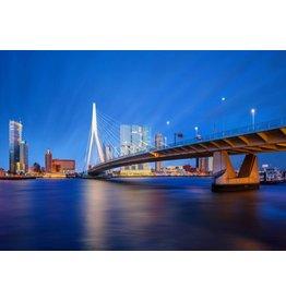 Glas schilderij 110x160x0,4cm Rotterdam