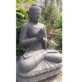 Buddha Lotus Salutieren in 5 Größen