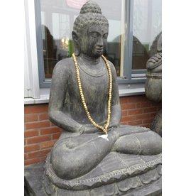 Boeddhabeeld op lotus mediterend in 6 maten