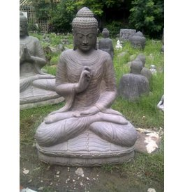 Buddha-Statue auf Lotus Chakra in 6 Größen