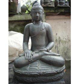 Buddha-Statue auf Lotus Erde in 6 Größen