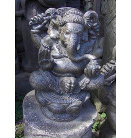Eliassen Ganesha in lotus zit 41cm
