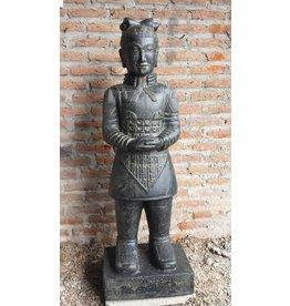 Eliassen Chinese krijger beeld 150cm