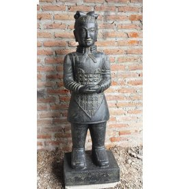 Eliassen Chinese krijger beeld 200cm