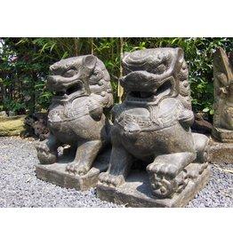 Eliassen Leeuwen gesetzt chinesische Tempelwächter in 3 Dimensionen