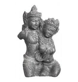 Rama en Sita buste