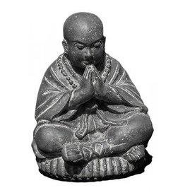 Shaolin Mönch Statue Salutieren