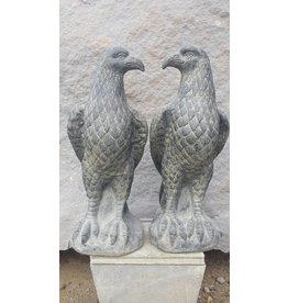 Eliassen Adler-Skulptur Garten Satz von 2