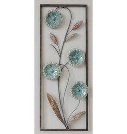 Wanddekoration Blumen 2 28x73cm