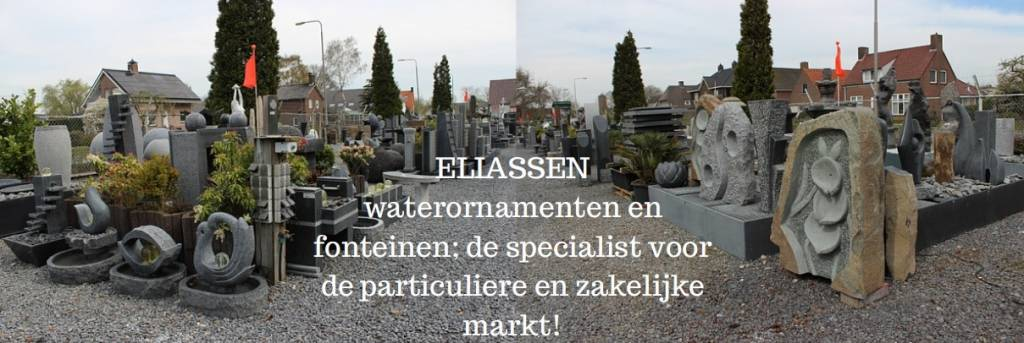 Eliassen Chrystal sophia met gepolijste waterbak