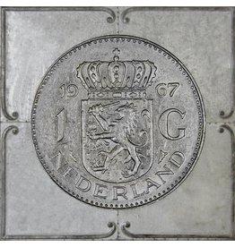 3D-Malerei Gulden 2 71x71cm