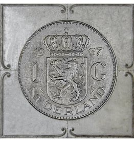 Ter Halle 3D-Malerei Gulden 2 71x71cm