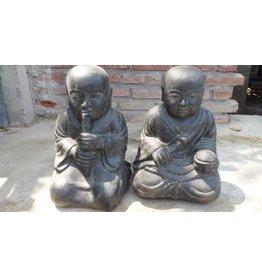 Kinder Monk Zwillinge