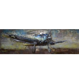 Eliassen 3D schilderij metaal 180x60cm Hunter