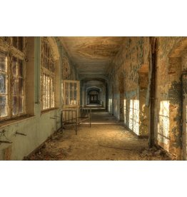 Ter Halle Glasmalerei Old Hospital 100x150cm