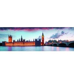 Glas schilderij 45x140cm Londen