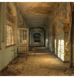 Glas schilderij 100x100cm Ziekenhuis