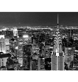 Foto Malerei glitter 114x80cm New York bei Nacht