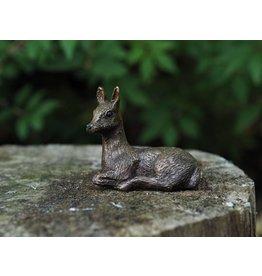 Bronzen beeldje kleine hert