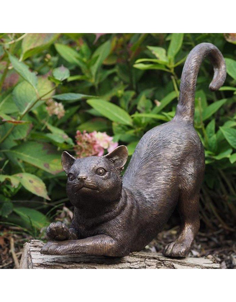 Bronze gerade Katze